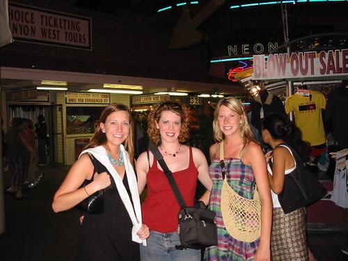 Tess, Maggie, Sarah - June 2006
