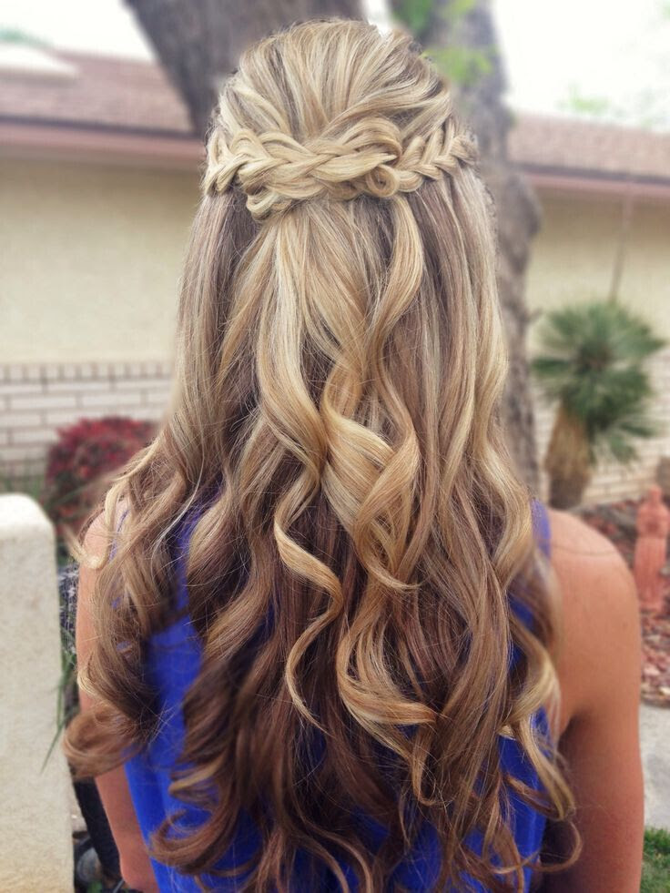 Hairstyles For Prom Hair Down Damen Hair