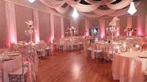Stunning reception at The Crystal Ballroom in Orlando #