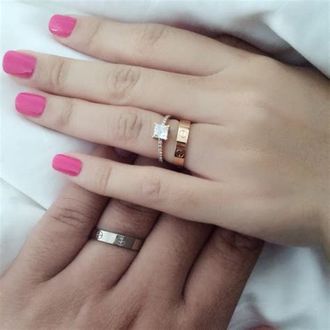 Do Husband And Wife Wedding Bands Have To Match   Wedding