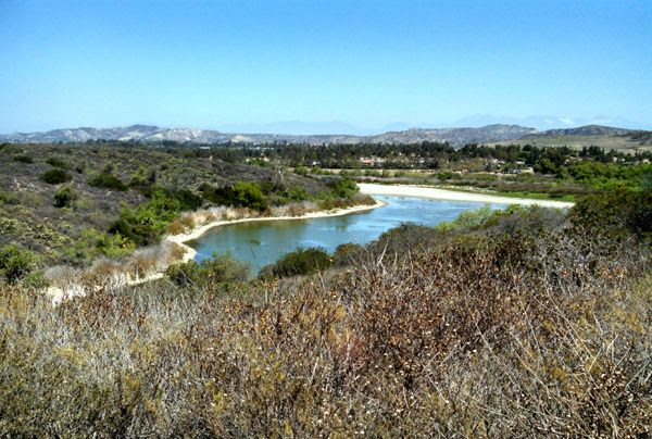 A view from the trail Nancy and I used for our hike in Orange County, CA...on June 17, 2014.