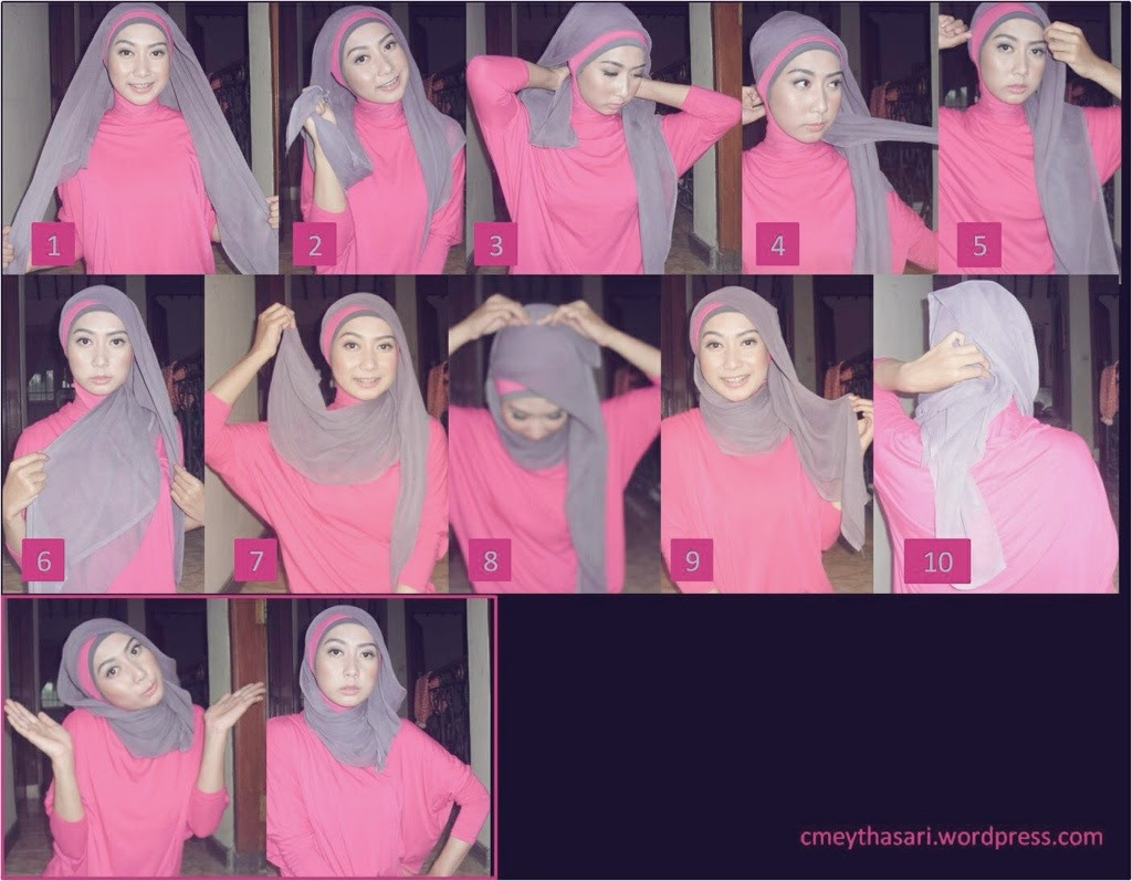 Tutorial Hijab Terbaru Tutorial Hijab Mudah Dan Simple