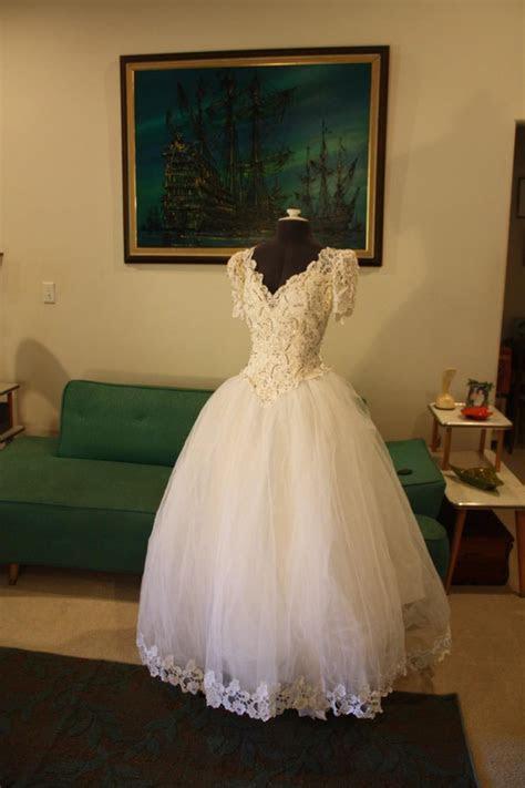 Vintage House Of Bianchi Wedding Dress Vintage Wedding