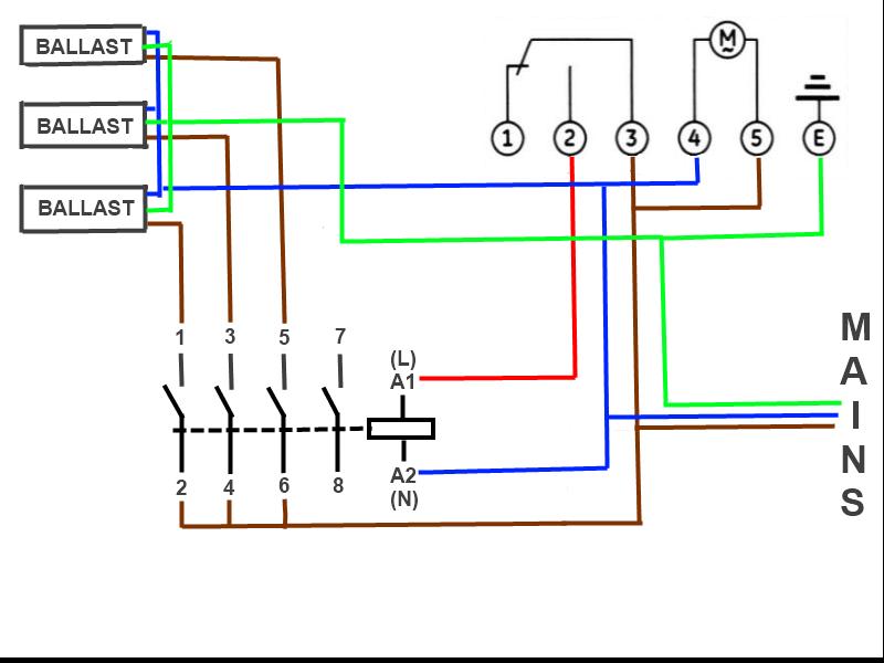Diagram Lighting Contactor Ballast Wiring Diagrams Full Version Hd Quality Wiring Diagrams Diagramdanisg Parrocchiesolopaca It