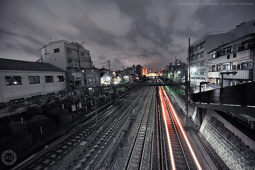 The Last Train: Mejiro, Tokyo, Japan