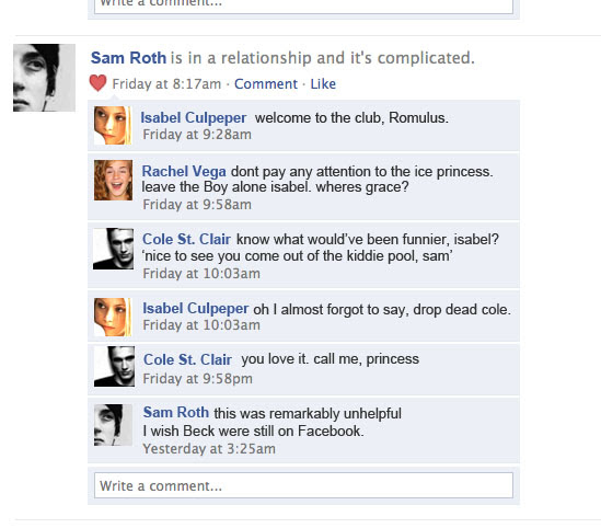 Sam Roth is in a relationship