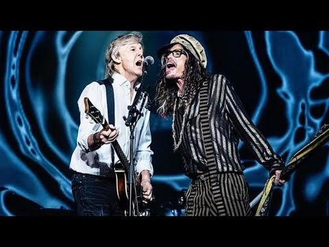 Show de Paul McCartney em Las Vegas conta com participação especial de Steven Tyler; Assista!!
