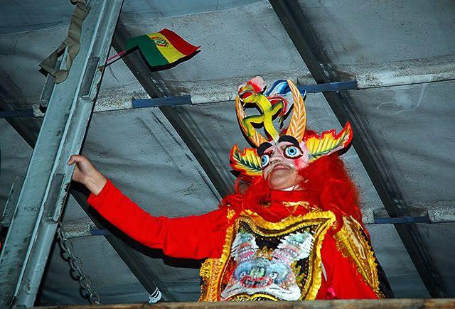 Carnival Costumes: Bolivian Devil, Barcelona Carnaval 2008 [enlarge]