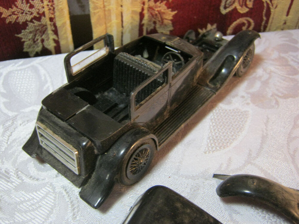 BLACK VINTAGE MODEL KIT CAR PARTS  eBay