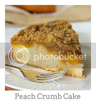 """Peach Crumb Cake"""