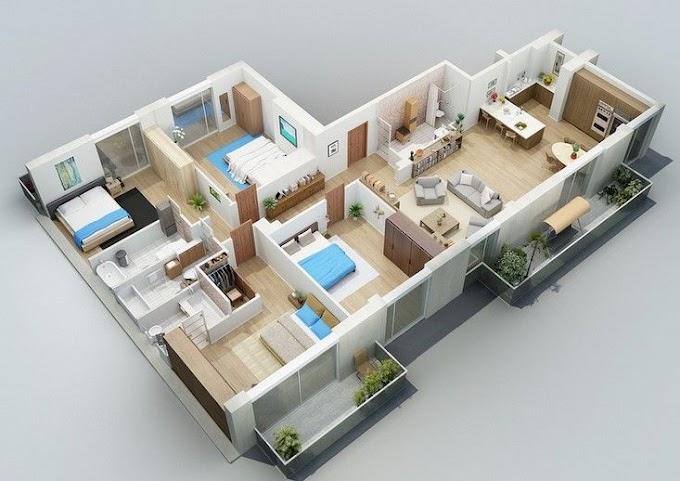 Desain Rumah Minimalis Modern 4 Kamar