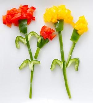 青椒康乃馨