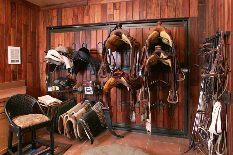 How To Organize Horse Tack Room