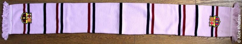шарф барселоны