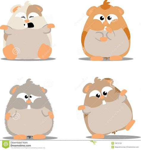 Cute Hamsters Stock Photography   Image: 18213752