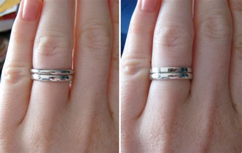 2mm wedding band with 3mm e ring? : Show Me the Bling