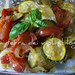 Zucchine,pomodori,cipolle