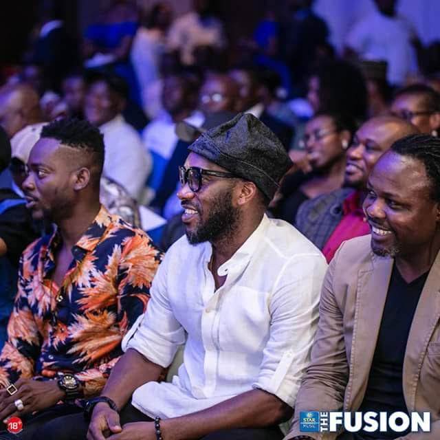 2Baba, Falz, Adekunle Gold, M.I, Jay Jay Okocha, Ikpeba Hang Out At Eko Hotels