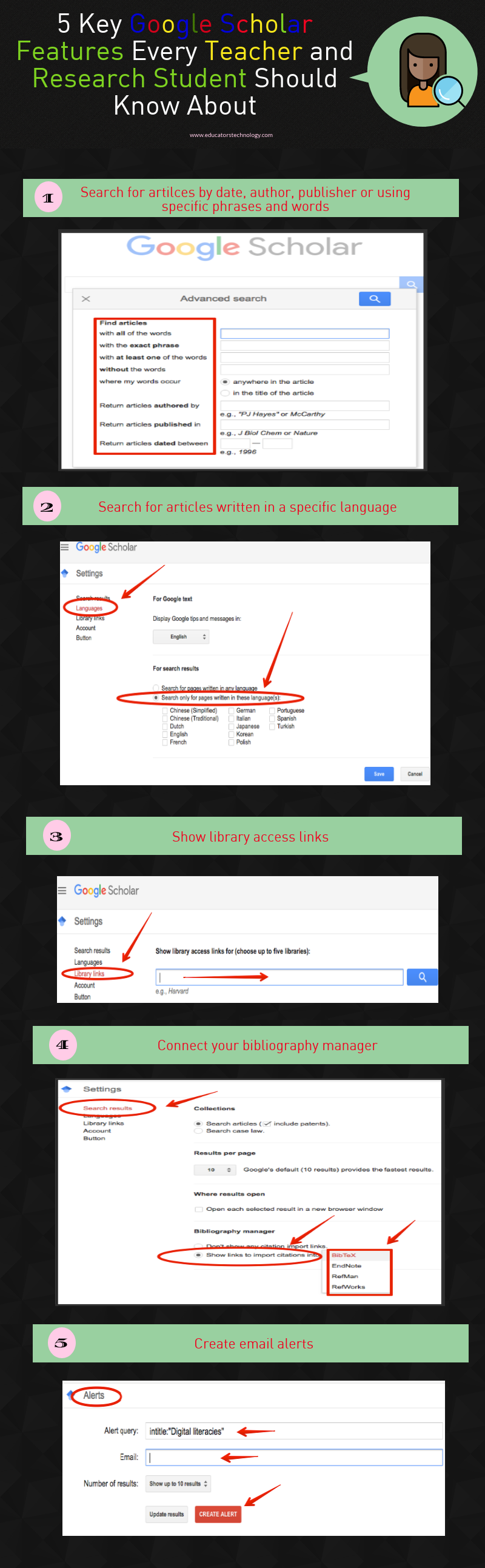 5 Key Google Scholar Features Every Teacher and Research Student Should Know About