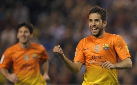 Jordi Alba, Lionel Messi - FC Barcelona