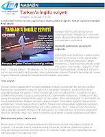 IHA news report on Tarkan's Wembley Show