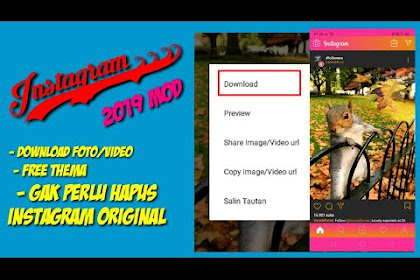 INSTAGRAM MOD 2019 | Download foto dan video langsung dari IG