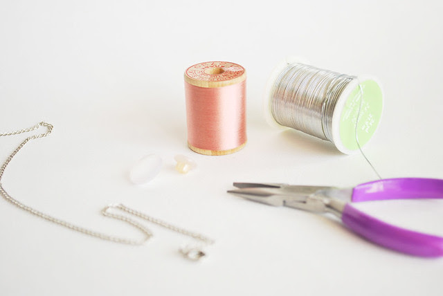 Spool Necklace Supplies