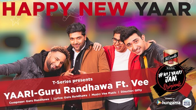 YAARI LYRICS - Guru Randhawa | Happy New Year - Lyrics Special