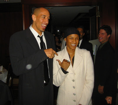 Doug Christie and his wife Jackie