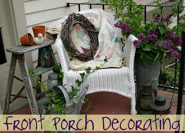 Front Porch Decorating: 5 Minute Fix