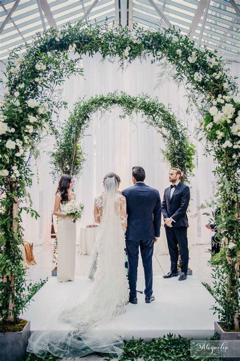 Modern Indoor Garden Wedding in Montreal   Wedding