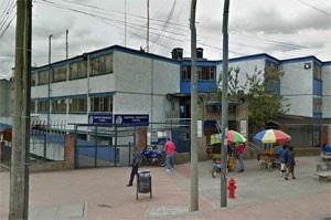 Hospital em Bogotá onde a senhora deu entrada (Foto: Reprodução/Google)