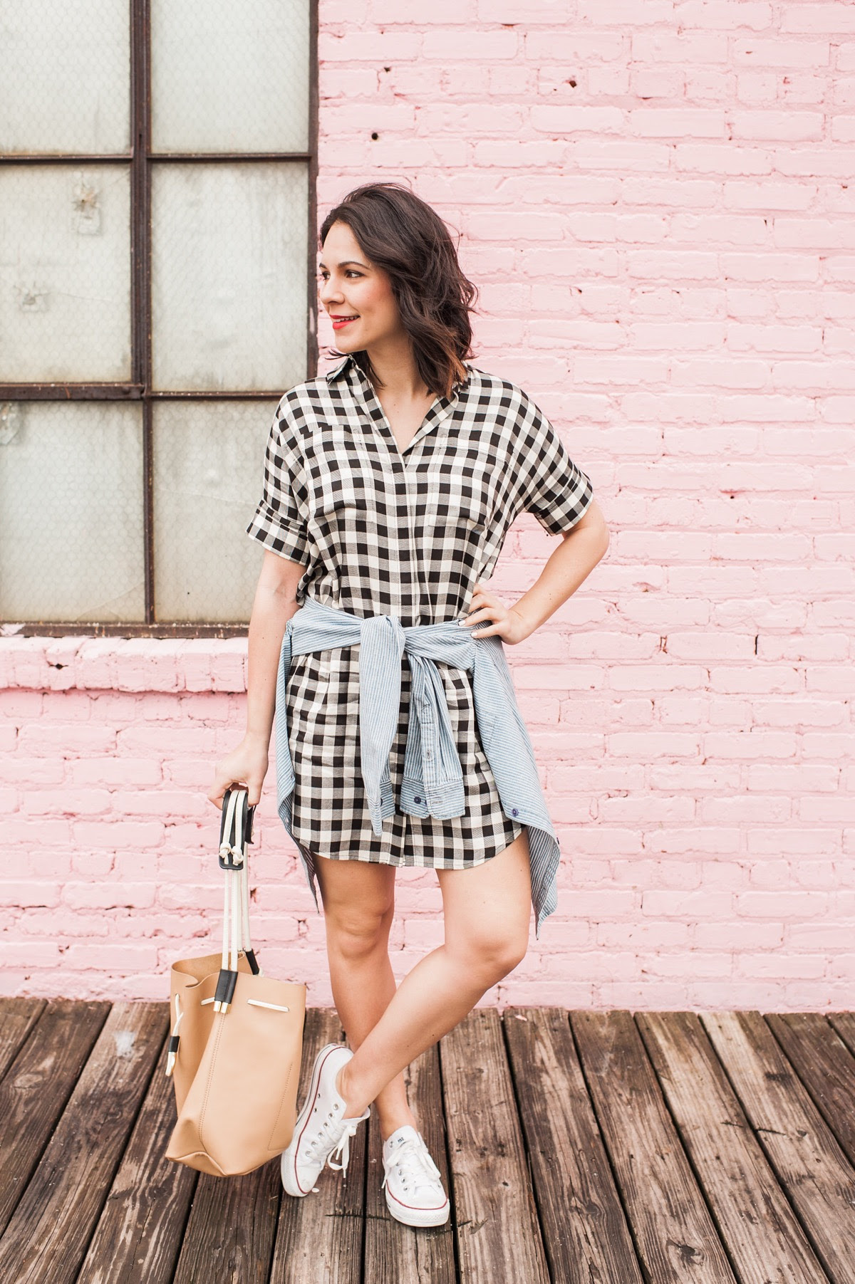 Gingham Madewell Dress, fashion blog, outfit ideas - @mystylevita