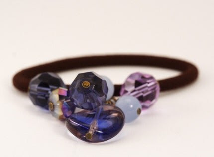 Hair Elastic - Purple Delight - Great Gifts