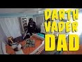 Dad Wakes Up Toddler Son Dressed As Darth Vader - Video