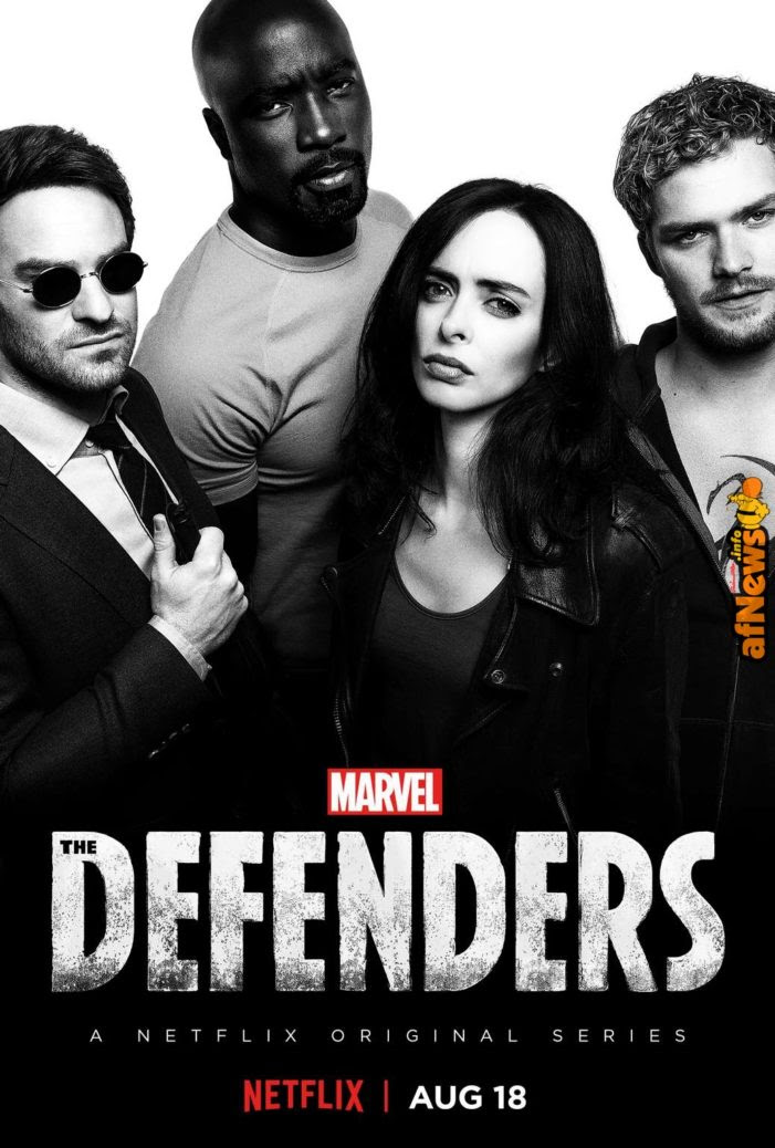 Marvel's The Defenders: First Poster Brings The Solitary Superheroes Together