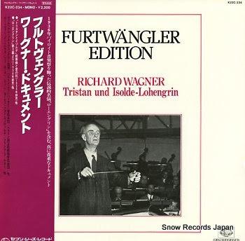 FURTWANGLER, WILHELM edition / wagner, richard; tristan und isolde-lohengrin