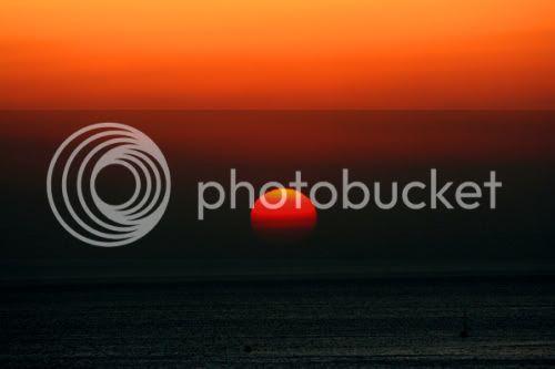 Princes Island sunset