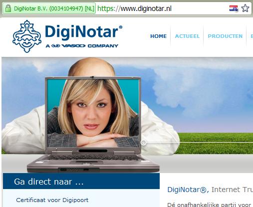 DigiNotar