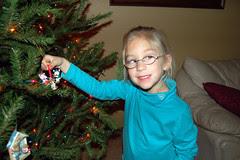 Lindsey loves decorating!