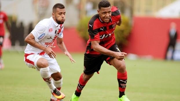 Rene Santos Vitoria River-PI Copa do Nordeste 01/04/2017