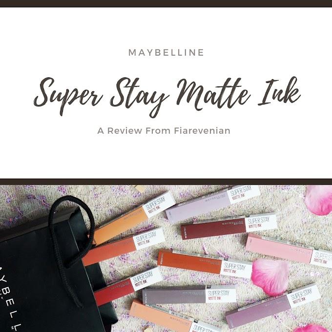 Maybelline Super Stay Matte Ink - Lipstik Cair Tahan 12 Jam!