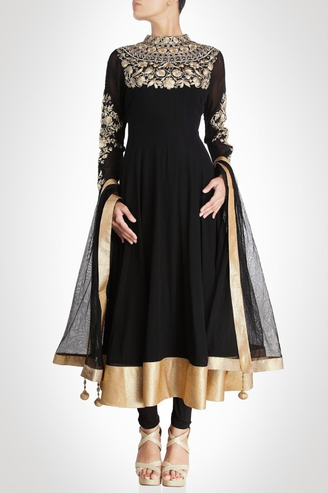 Girls-Women-Wear-Beautiful-Anarkali-Churidar-Gotazari-Frock-New-Fashion-Outfits-3