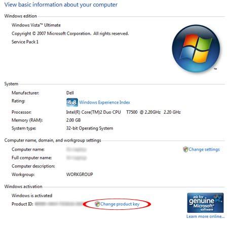 Windows 7 Enterprise Product Key