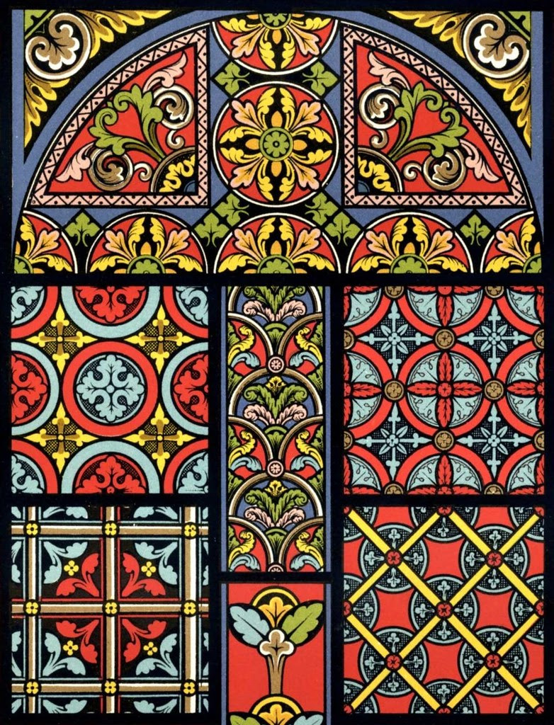 Racinet Polychrome - Middle Ages c