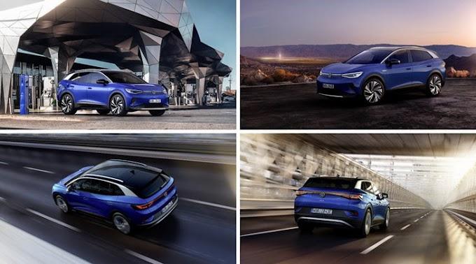 Volkswagen презентовала свой первый электрический кроссовер