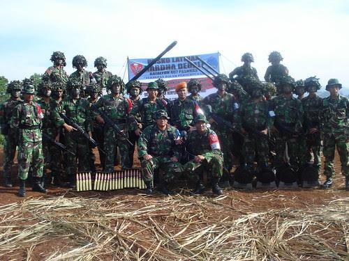 Batalyon 467 Paskhas 'Terdepan Dlm Pertempuran'
