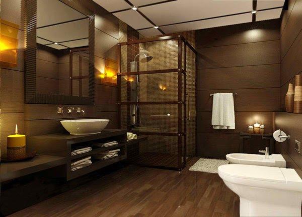 15 Stunning Modern Bathroom Designs | Home Design Lover