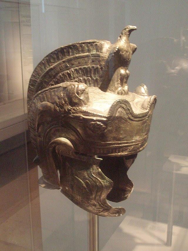Roman parade helmet, 2nd century.jpg