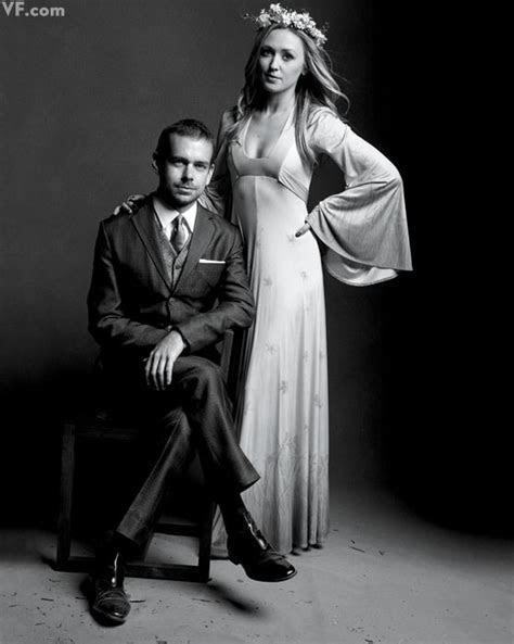 Twitter founder Jack Dorsey and Kate Greer. Image: Vanity